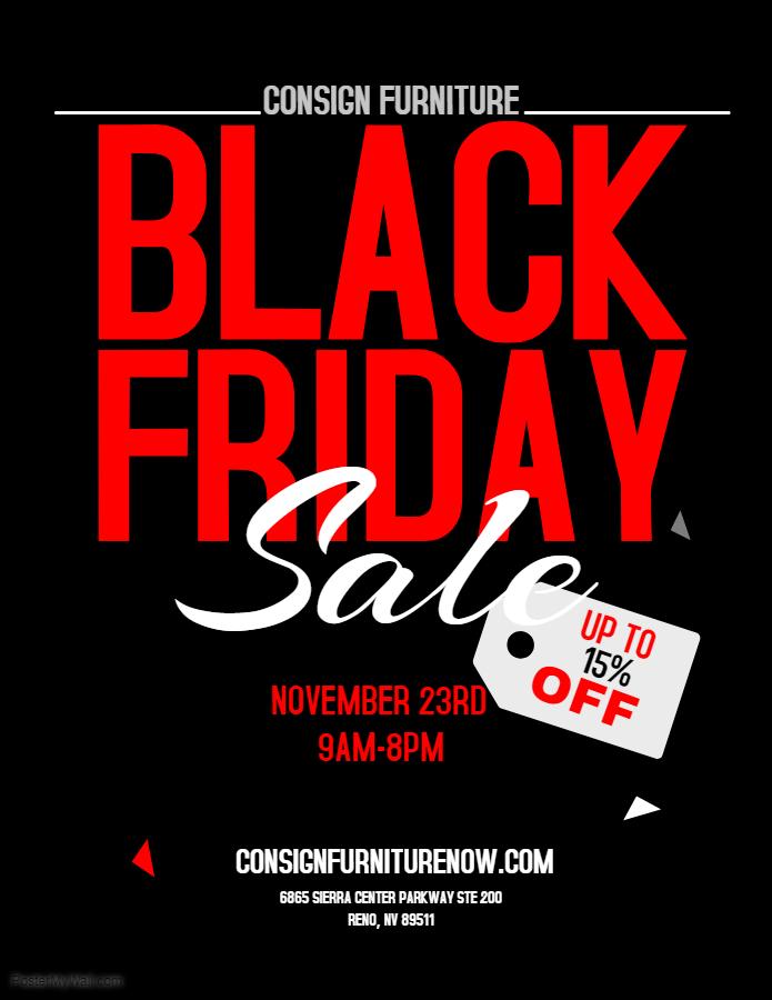 Copy Of Black Friday Flyer Made, Furniture Black Friday